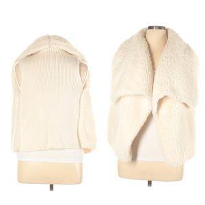 a.n.a fuzzy vest